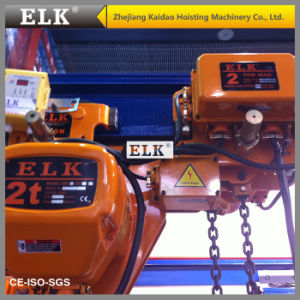 Elk 5ton Electric Chain Hoist Low Headroom Elevator--CE Certificates pictures & photos