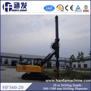 New Model! Hf360-20 Hydraulic Rotary Drilling Rig for Small Piling pictures & photos