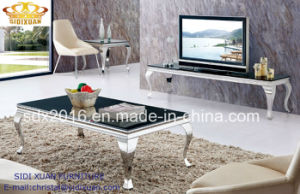 Coffee Table / Stainless Steel Coffee Table / Marble Top Coffee Table / Modern Coffee Table /Tea Table Sj813 pictures & photos