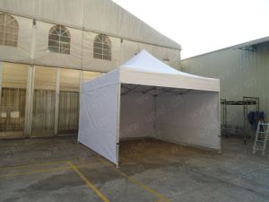 White Cover 50mm Hexagon Alaluminum Folding Tent 4X4m pictures & photos