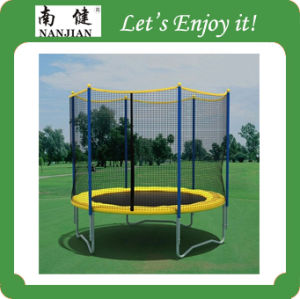 Big Trampoline with Safety Net pictures & photos