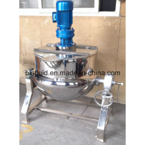 Steam Heating Sugar Melting Tilting Jacketed Kettle pictures & photos