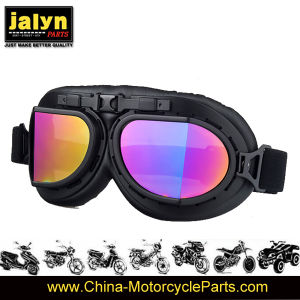 Fashionable ABS Harley Type Goggles for Motorcycle pictures & photos