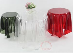 3PC Acrylic Stackable Nesting End Side Tables - Clear pictures & photos