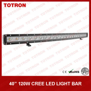 "40"" 120W Single Row Curved LED off Road Light Bar for 4X4 (TLB1120X)"
