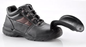 Workplace High Cuff Mining Fall Protection Safety Shoe Anti-Smashing Footwear pictures & photos