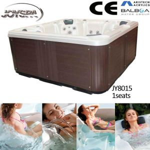 Joyspa Jy8015 7person Acrylic Material Jacuzzi Baht Tub for Massage pictures & photos