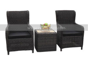 Mtc-080 Outdoor Rattan Garden Furniture Tea Table and Chair Set pictures & photos