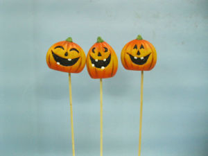 Halloween Pumpkin Ceramic Arts and Crafts (LOE2375-A5.5p) pictures & photos
