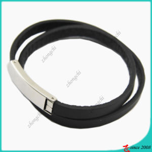 Stainless Steel Black Double Layers Bracelet (LB)