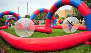 Inflatable Zorb Ball Game Inflatable Go Kart Race Track for Sale pictures & photos