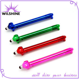 Lovely Plastic Novelty Dog Shaped Stylus Pen for Promotion (DP505) pictures & photos