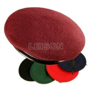 Military Beret Adopts 92% Wool-100% Wool pictures & photos