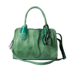 Graceful Leather Product Ladies′ Handbag (LDO-15010) pictures & photos