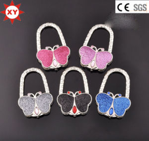 Foldable Butterfly Shape Bag Holder Hook for Lady pictures & photos
