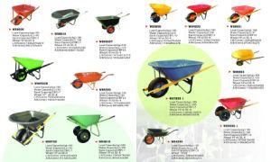 Hot Sale Plastic Garden Wheel Barrow pictures & photos