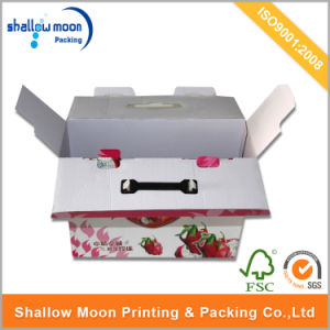 Corrugated Paper Fruit/Vegetable Packaging Box (AZ122820) pictures & photos