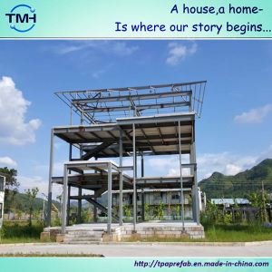 Steel Structure Design Luxury Prefabricated Houses pictures & photos