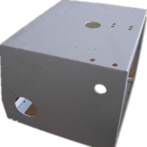 Welded Spare Part, Powder Coating Laser Cutting Case, Sheet Metal Fabrication pictures & photos