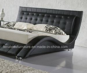 A019 High Head Board King Size Bed pictures & photos