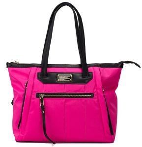 Fashion & Florid Fushia Color Quilted Lady Leisure Handbags