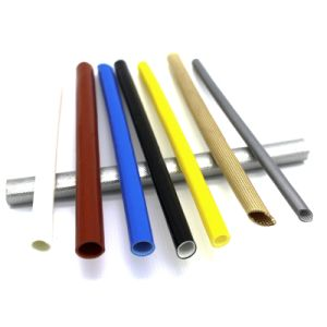 Silicone Resin Fiberglass Sleeving pictures & photos