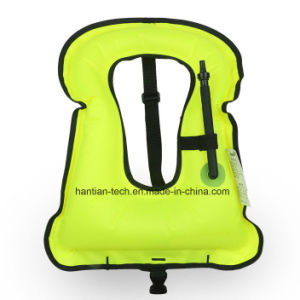 Customized Color TPU Diver Vest Inflatable Water Swim Vest Floating Life Jacket pictures & photos