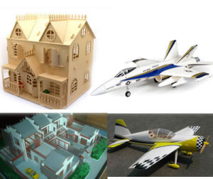 Wood Ship Model/ Plane Model, Craft CO2 Laser Cutting Machine pictures & photos