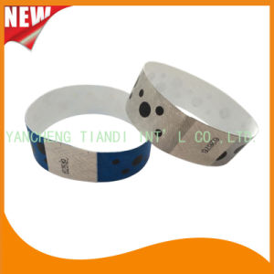 Tyvek Entertainment Custom Party VIP Paper ID Wristbands (E3000-1-73) pictures & photos
