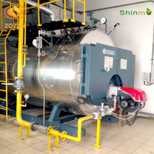 CE Approved Industrial Gas-Fired Packaged Steam Boiler (WNS4-1.6-Y/Q)