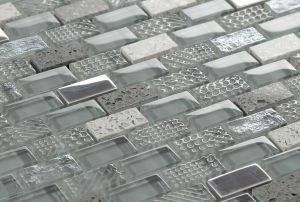 Hot Sale Glass Mosaic with Stone pictures & photos
