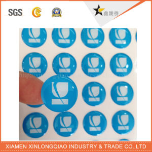 Printed Printer Label Printing Customized Epoxy Resin Self Adhesive Dome Sticker pictures & photos