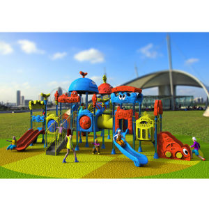Outdoor Playground--Small Earth Guard Seriess, Children Outdoor Slide (XYH-MH019) pictures & photos