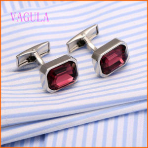 VAGULA Silver Plated Copper Fashion Shirt Cufflinks for Man pictures & photos