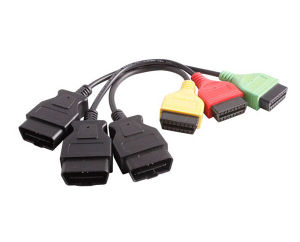 Adaptors for FIAT ECU Scan Diagnostic Cable Four Colors pictures & photos