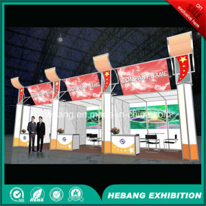 Hb-L00010 3X3 Aluminum Exhibition Booth pictures & photos
