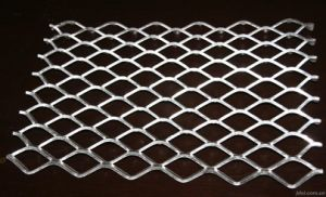 Diamond Hole Aluminum Expanded Metal Mesh for Decoration with High Quality pictures & photos