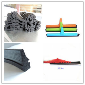 EPDM Rubber Extrusion Floor Washing Squeegee pictures & photos