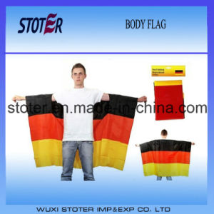 90*150cm Germany Body Cape Flag