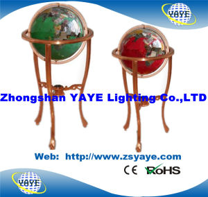 Yaye Green / Red Colour 330mm Gemstone Globe / World Globe for Home Decoration pictures & photos
