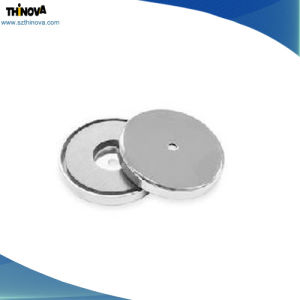 Customized High Quality Strong Disc Shape NdFeB Magnets with Inner Hole