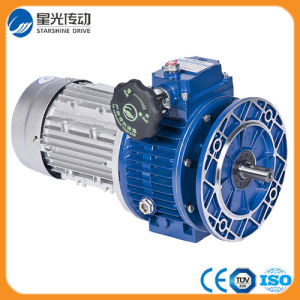 Jwb-X Series Speed Gearbox Variator with Motor pictures & photos