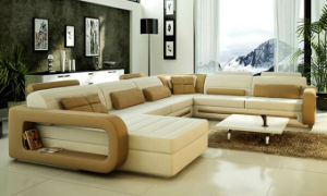 Home Furniture Genuine Leather Sofa pictures & photos