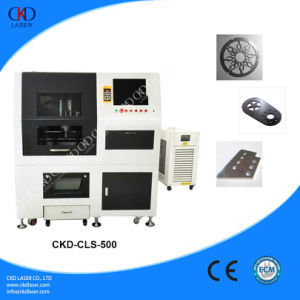 Low Cost Silver Stainless Steel CNC Laser Cutting Machine pictures & photos
