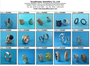 2015 New Product Good Quality Sliver Ring (R10581) pictures & photos