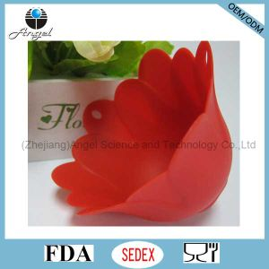 Flower Silicone Egg Poacher Tool Slicone Egg Mould Se14 pictures & photos