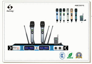 Live Performance Professional Wireless Microphone H-201 pictures & photos