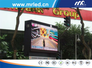 P10mm Outdoor RGB LED Display Screen for Advertising in Media & Entertainment pictures & photos