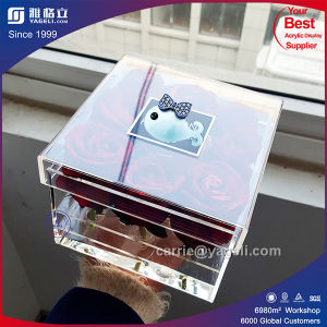 Factory High Clear Waterproof Acrylic 9 Roses Box pictures & photos