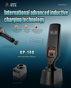 Reliable Hand Held Metal Detector Gp-140 pictures & photos